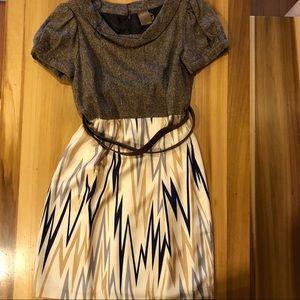 Ali Ro | Tweed & Silk Mini Dress - NWOT
